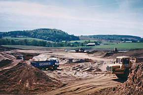 Quarrying at Murton Farm before it became Murton Trust, Forfar
