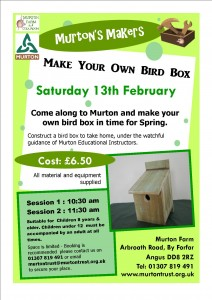 Murton's Makers Make your own bird box