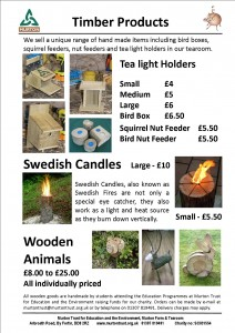 Wooden goods website sheet